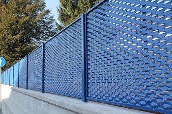 Genişletilmiş Metal Mesh Çit Korkuluk